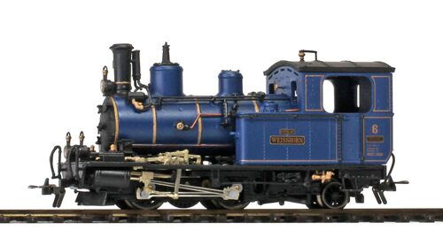 "Bemo 1292586 DFB HG 2/3 6 ""Weisshorn"" Metal Collection - Exclusivmodell 2018"