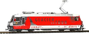 "Bemo 1559161 RhB Ge 4/4 651 ""Glacier on Tour"" AC digital"