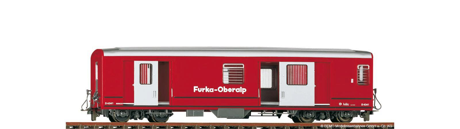 Bemo 3269212 FO D 4342 Packwagen