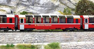 Bemo 3694142 RhB Bernina Express Bp 2502   H0