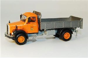 Liliput 937534 Saurer 5DM Zivil Kipper Version