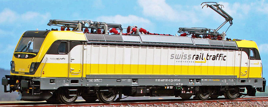 ACME 90119ACS E-Lok 487 001, Eigentum Swiss Railtraffic SoSe AC Sound