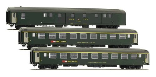 L.S. Models 47238 SBB 3er Set UIC-X Dms Am neues Logo  Ep IV