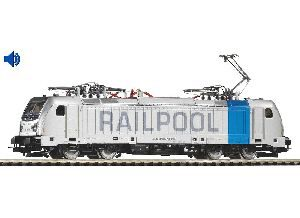 Piko 51564 Soundlok/ E-Lok BR 187 Railpool  VI lastMile