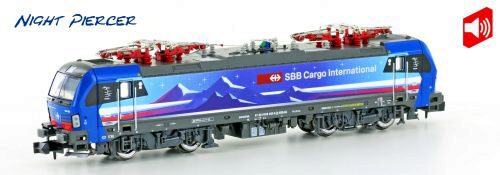 Hobbytrain 2999S SBB E-Lok Re475 Vectron SBB Cargo Night P. Ep.VI Sound