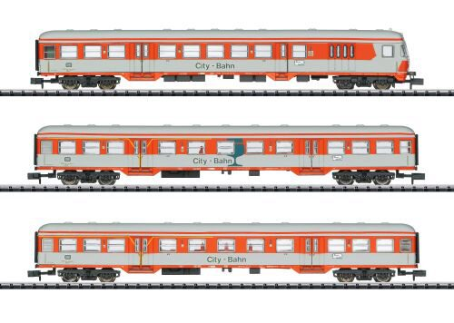 Minitrix 15474 Personenwagen-Set City-Bahn D