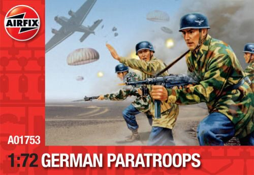 Airfix A01753 German Paratroops (Re-Release)