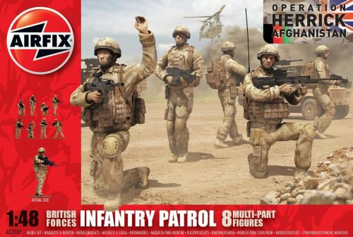 Airfix A03701 British Army Troops (new tool)