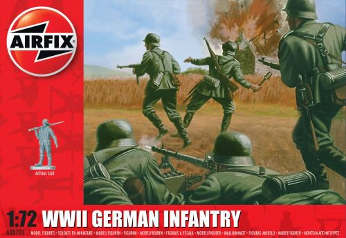 Airfix A00705 WWII German Infantry
