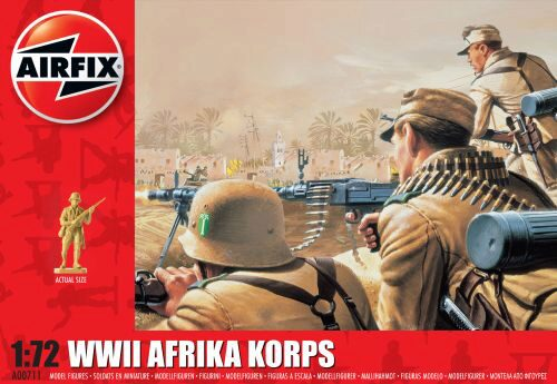 Airfix A00711 WWII Afrika Corps