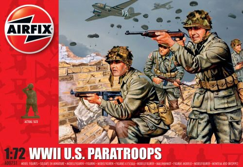 Airfix A00751 WWII US Paratroops