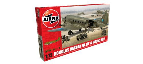 Airfix A09008 Douglas Dakota MkIII with Willys Jeep