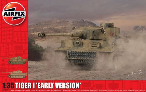 Airfix A1357 Tiger 1 Early Production Version