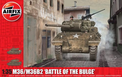 "Airfix A1366 M36/M36B2 ""Battle of the Bulge"""
