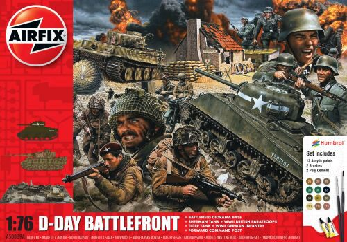 Airfix A50009A D-Day 75th Anniversary Battlefront Gift Set