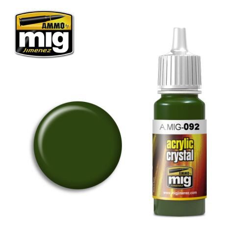 Ammo AMIG0092 CRYSTAL GREEN