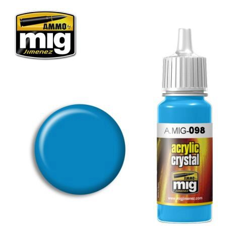 Ammo AMIG0098 CRYSTAL LIGHT BLUE