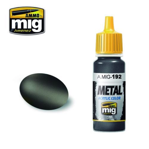 Ammo AMIG0192 Metal Acryl Farbe POLISHED METAL (17 mL)