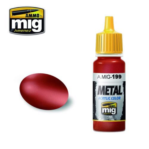 Ammo AMIG0199 Metal Acryl Farbe COPPER (17 mL)