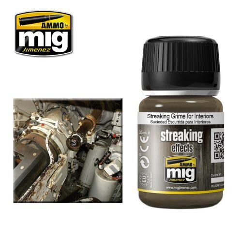 Ammo AMIG1200 ENAMEL  STREAKING GRIME FOR INTERIORS (35 mL)