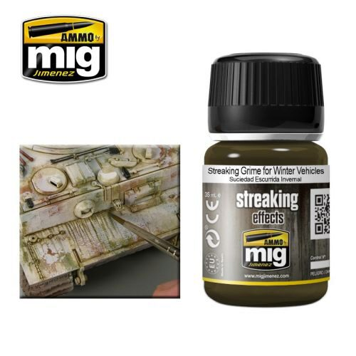 Ammo AMIG1205 ENAMEL STREAKING GRIME FOR WINTER VEHICLES (35 mL)