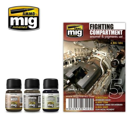 Ammo AMIG7404 FIGHT COMPARTMENT SET