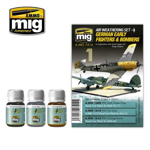 Ammo AMIG7414 GERMAN EARLY FIGHTERS AND BOMBERS