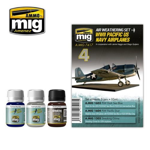 Ammo AMIG7417 WW II PACIFIC US NAVY AIRPLANES