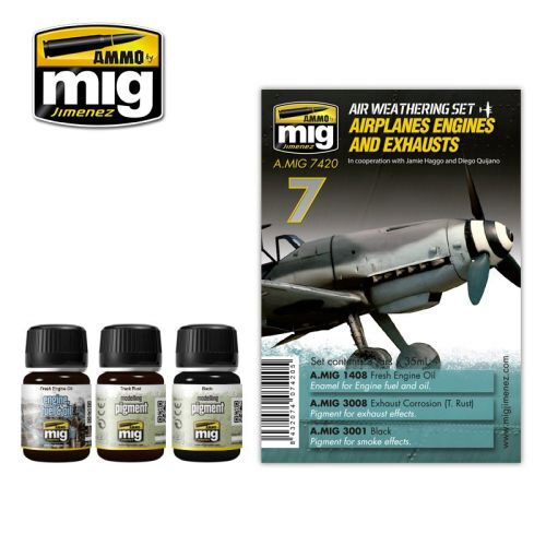 Ammo AMIG7420 AIRPLANES ENGINES AND EXHAUSTS