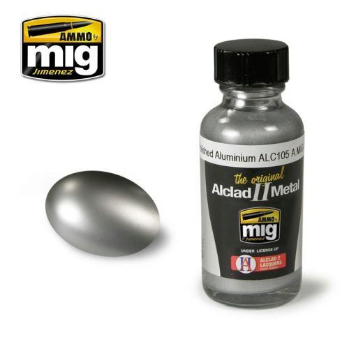 Ammo AMIG8204 AMMO METALLIC PAINTS POLISHED ALUMIMIUM ALC105