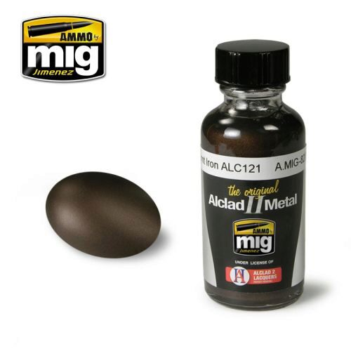 Ammo AMIG8209 AMMO METALLIC PAINTS BURNT IRON ALC121
