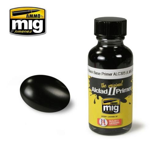 Ammo AMIG8210 GLOSS BLACK BASE PRIMER ALC305