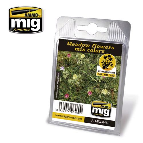 Ammo AMIG8460 MEADOW FLOWERS MIX COLORS