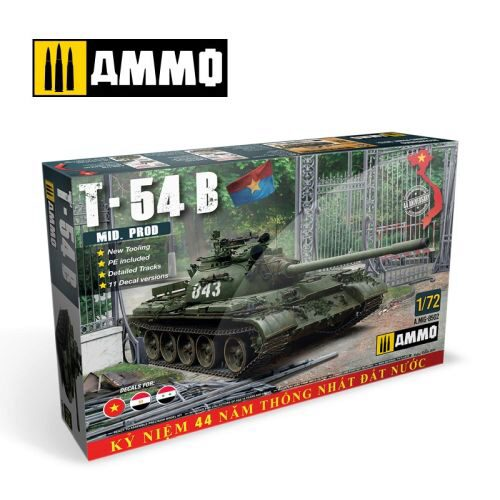 AMMO 8502 1/72 T-54 B - Mid Production