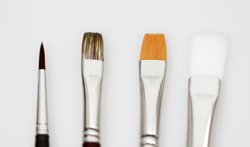 Da Vinci 5402 Modellbau-Pinsel Set 4tlg. Gross 14/12/8/4