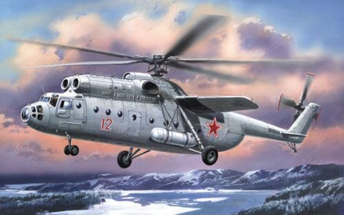 Amodel AMO72119 Mil Mi-6 Soviet helicopter, early