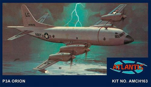 Atlantis 560163 1/115 Lockheed P3A Orion