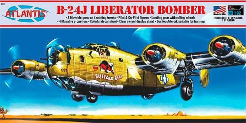 Atlantis 560218 1/92 Consolidated B-24-J Buff