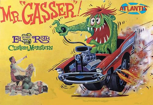 Atlantis 561301 1/25 Ed Roth Mr. Gasser
