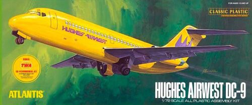 Atlantis 566004 1/72 DC-9 Hughes Airways/TWA