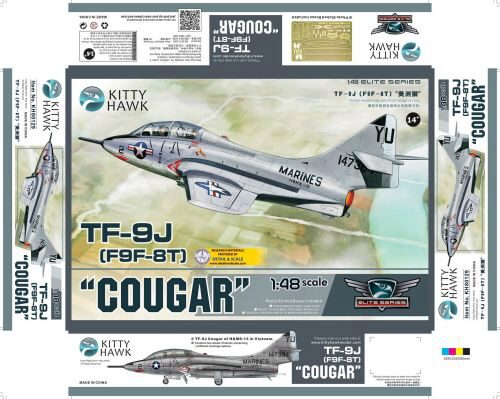 "Kitty Hawk KH80129 TF-9J ""Cougar"""