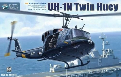 Kitty Hawk KH80158 UH-1N Twin Huey