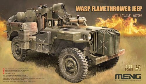 MENG-Model VS-012 WASP Flamethrower Jeep