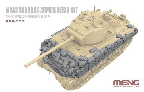 MENG-Model SPS-070 M4A3 Sandbag Armor Set (Resin)