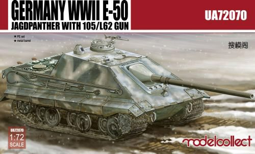 Modelcollect UA72070 Germany WWII E-50 Jagdpanzer with105/L62