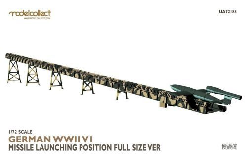 Modelcollect UA72183 German WWII V1 Missile launching position full size Ver.