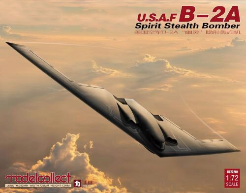 Modelcollect UA72201 USAF B-2A Spirit Stealth Bomber