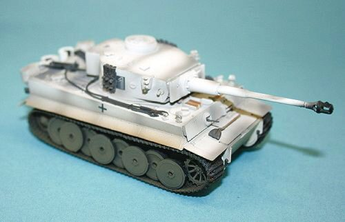 Easy Model 36208 Tiger 1 Early Type ''LAH'', Kharkov, 194