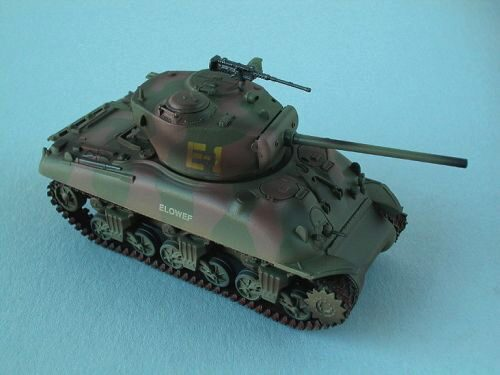 Easy Model 36248 M4A1 (76)W Middle Tank 2nd Armored Div., Easy Model
