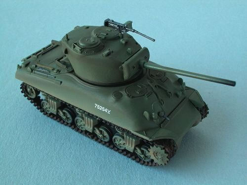Easy Model 36249 M4A1 (76)W Middle Tank 7th Armored Brigade, Easy Model